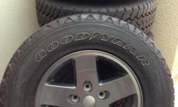 Limited mountain edition gun metal rims with 80% tread