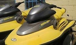 2 x Seadoo Jet Ski's with trailer. Well looked after.