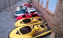 10 each Jet Ski hulls (various models) for sale, as is
