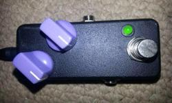 I have a custom EM-Drive guitar pedal for sale. This