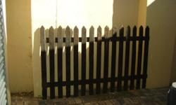 Job lot of second hand picket fencing for sale. Height