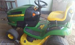 Like New John deere 19 hp lawn mower very very good