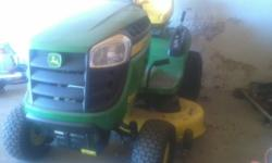 John deere d110 19.5hp 42inch. Only 45 hours on clock