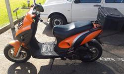 Jonway 125 scooter in running condition with no papers