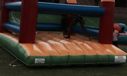 Standard size 4,1m x 3,1m jumping castle for sale