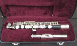 Jupiter piccolo flute in original case collectors item