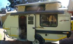 2004 jurgens explorer caravan. very good condition.2nd