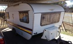 In very good condition with full tent fridge freezer