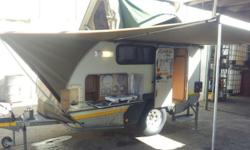 Off road caravan in good condition. Additional lights