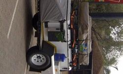 Jurgens XT75 Trailer Howling Moon Roof trailer top tent