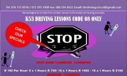GET UR LICENSE, EAST RAND LEARNERS, DRIVE K53 STYLE