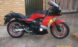 like bike in picture gpz 750 with papers and gpz750