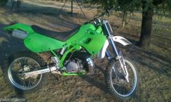 This KDX 250 I have had a full top end etc� service