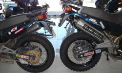 Lift kit for KLE 500. Increase ground clearance by