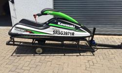- Kawasaki Stand Up Jet Ski SX-R800  - In excellent