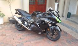 Kawasaki zx 14 2008 model. Bike is very clean with