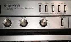 Kenwood KA-300 - Vintage 50 Watt Power Hi Fi Amplifier