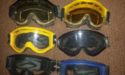 Im selling knee guards, kidney belts, goggles.....