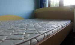 Kids bedroom set for sale 3/4 bed with matress and x2