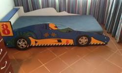 Kids car bed for sale-like new, currently retailing at