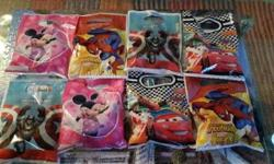 Cresta Sweets now stocking Spider Man , Cars , Mickey