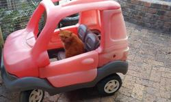 I have a kids push car for sale. Removable roof and