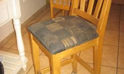 solid oak kitchen chairs urgent sale give away price