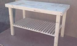 Versatile piece - can also be used as a kitchen table,