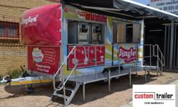 Kitchen Food Vending Catering Trailer Manufacturers We