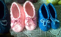 Klere/Shoes/Accessories: slippers Beautiful knitted bed