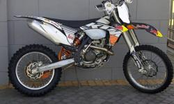 KTM 450XCW Clean bike has Radiator guards , hand