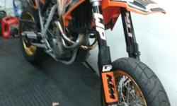 2005 KTM SX-C Supermotard Akropovic exhaust Excell