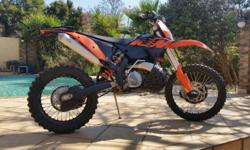 Ktm 250 xcw, 112 hours, all the guards, Scott damper,