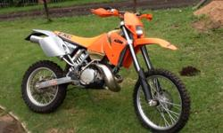 Fabrikaat: KTM Model: 250 EXC Mylafstand: 500 Kms