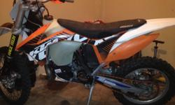 KTM 300 2013 for sale Brand new piston and rings,bike