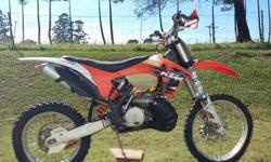 KTM 300. 2012 Has all the extras. Disc guards. Bash