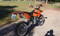 Selling my KTM 525 exc. Bike is in immaculate