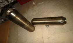 I have these original exhausts that came off a 2008 990
