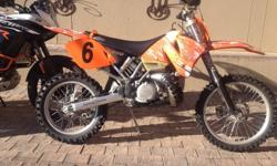 KTM 300 EXC only 2 owners bike never gets ridden owner