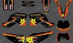 NEW STYLE TEAM GRAPHICS. FOR 2007 2008 2009 2010 KTM SX