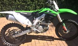 Kx450 for sale in mint condition only got 11hours on