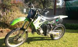 kX 125 FOR SALE , WORK NEEDED ON ENGINE
