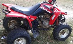 I have a Kymco quad that has been ridden by a