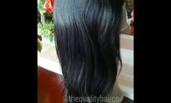 Lace front wigs available, 6 and 7A grade quality....