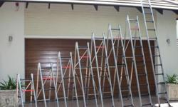 A-frame , straight and fruit picking ladders. Ladders