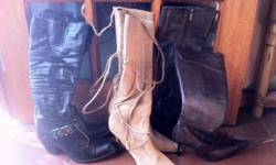 Ladies Boots. Good Condition. Size 5. Price Negotiable.