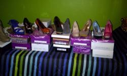 LADIES FASHION SHOES, HEELS , BOOTS PUMPS, NEW,