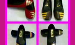 Top quality assorted ladies pumps.Made in