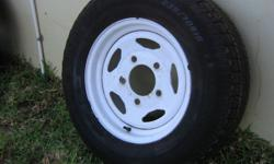 New Epoxy rim with Goodyear Eagle 235/70x16 tyre.80 %