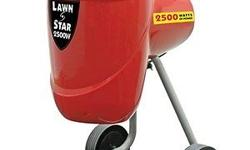 LAWN STAR LSGS 2500 Garden Shredder Super powerful 2500